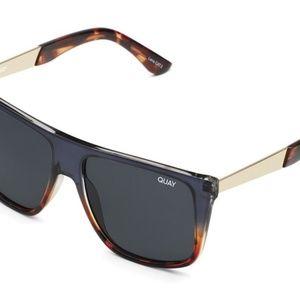 NWT Quay Australia Navy Tort Incognito Sunglasses
